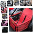 Car Pet Carrier Bag Mesh Waterproof Travel Mat Seat Safe Hol