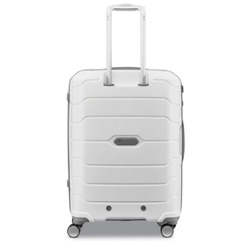 Samsonite Carry White Bag Double Suitcase