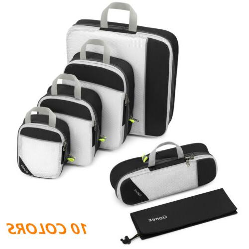 Compression Packing Travel Luggage Clothes Organizer Storage