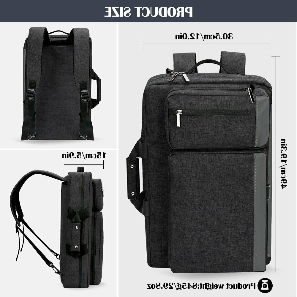 Convertible Laptop Backpack Business Travel Water