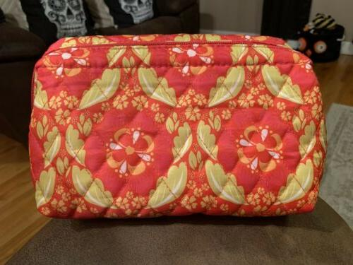 Caboodles Cosmetic Floral Travel
