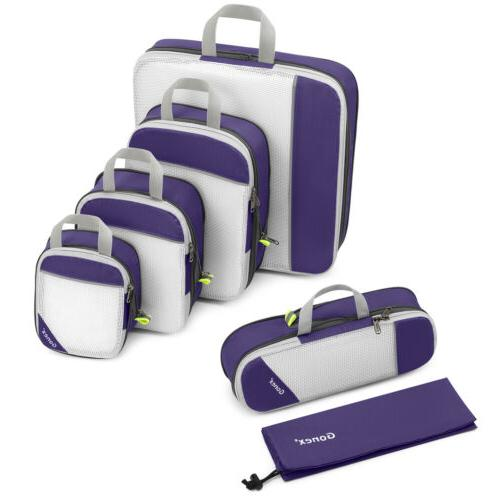 Compression Packing Travel Storage Bags Extensible Cube Lugg