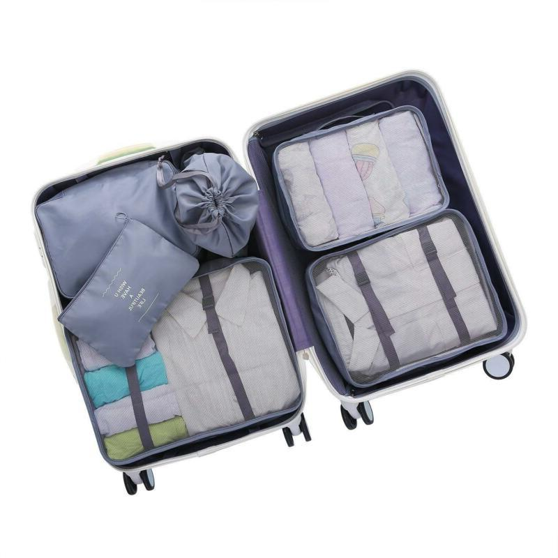 Dark Gray OEE pcs Packing Packing Cubes Set Travel
