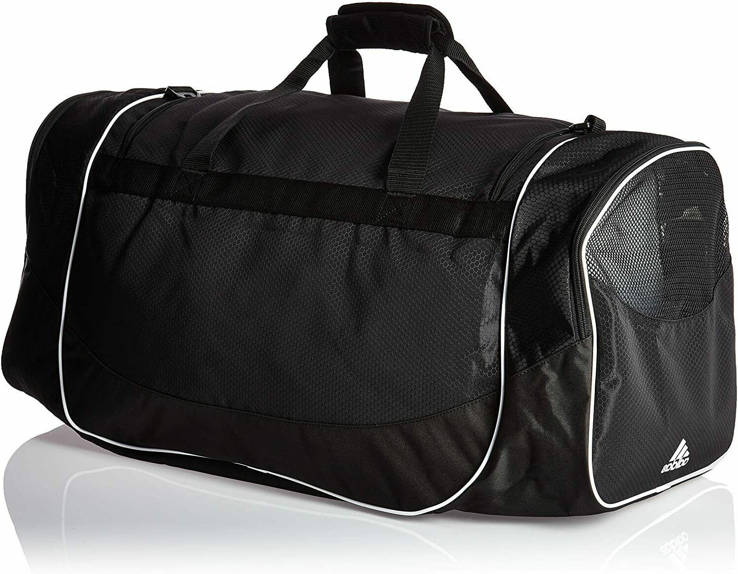 ADIDAS DEFENSE DUFFEL SPORT TRAVEL ZIP $55