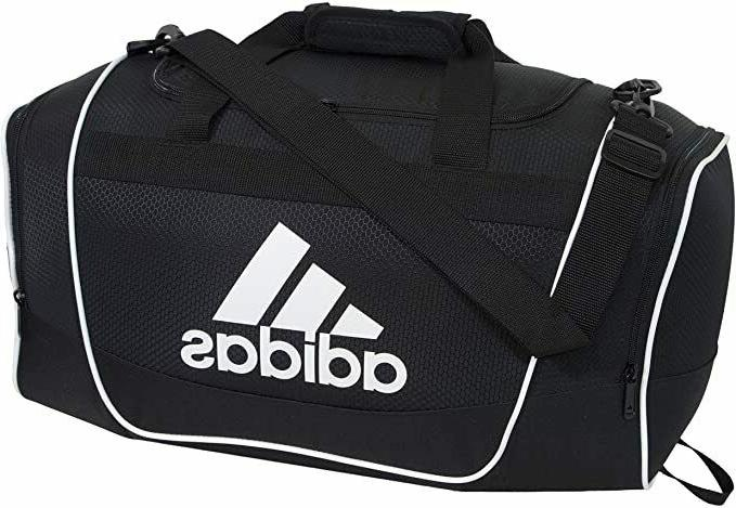 ADIDAS DUFFEL BLACK BAG GYM ZIP $55