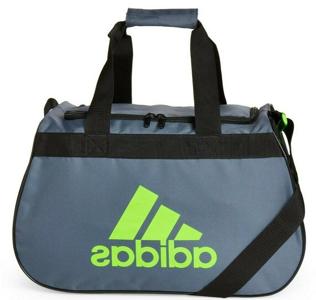 ADIDAS SMALL Duffel TOP ZIP Sports Locker Travel Bag NEW
