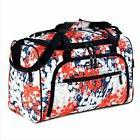 "Olympia 25"" Duffel Sports Bag Travel Tote Adjustable Shoulde"