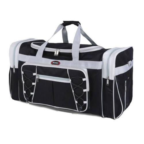 "Duffle Bag Travel Mens 26"" Overnight Sports Gym Large Weeken"