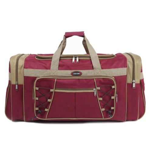 Duffle Gym Carry Travel Shoulder