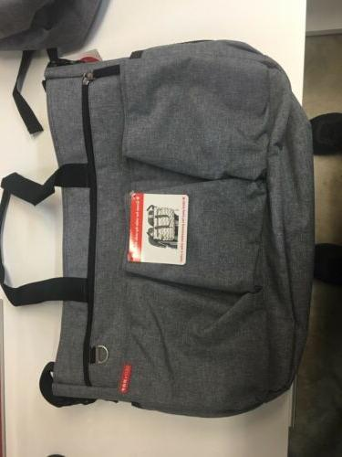 duo double signature carry all travel diaper