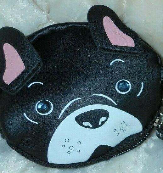 Betsey Johnson BULLDOG BOSTON Bag Lunch Travel+BONUS