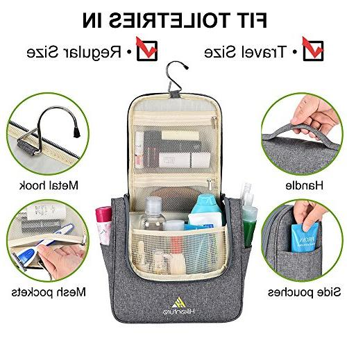Travel by Hikenture | Makeup and Toiletries Organizer | | Home, Hotel, Car