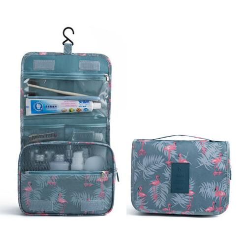 Hanging Toiletry Bag Large Cosmetic Pouch Waterproof Organizer