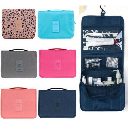 Hanging Travel Cosmetic Organizer Case