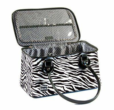 heartthrob it bag travel case zebra print