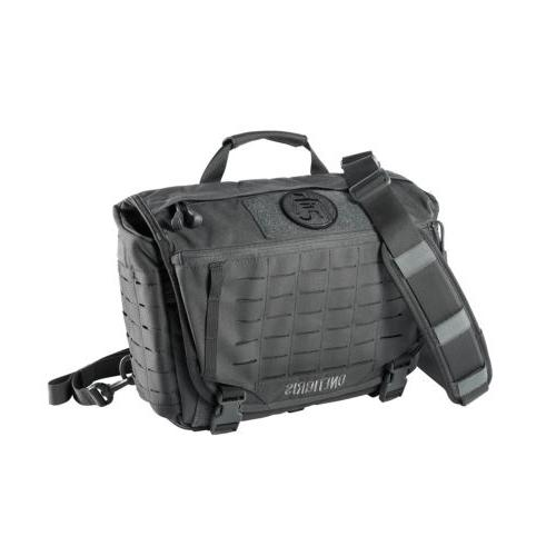 hu tactical laser cut molle messenger bag