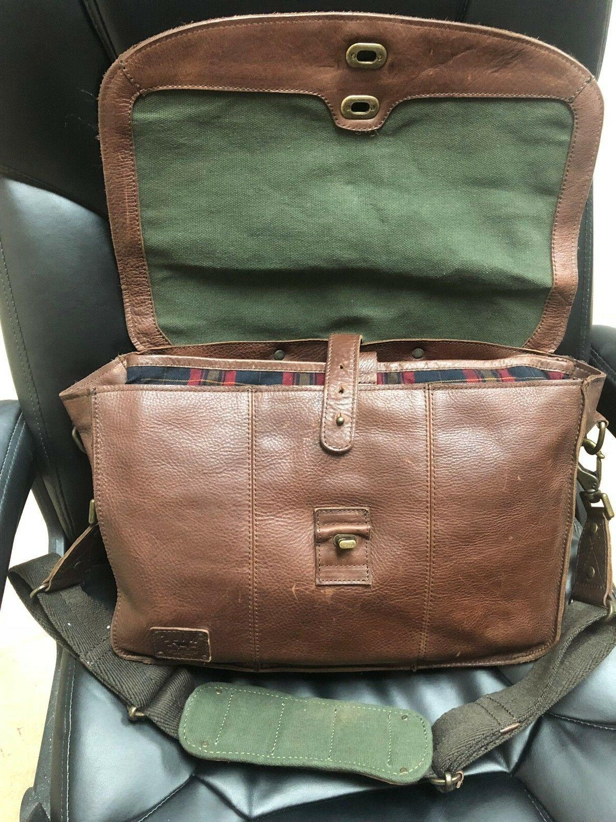 Will Leather Messenger Bag/Travel Pillow Leather