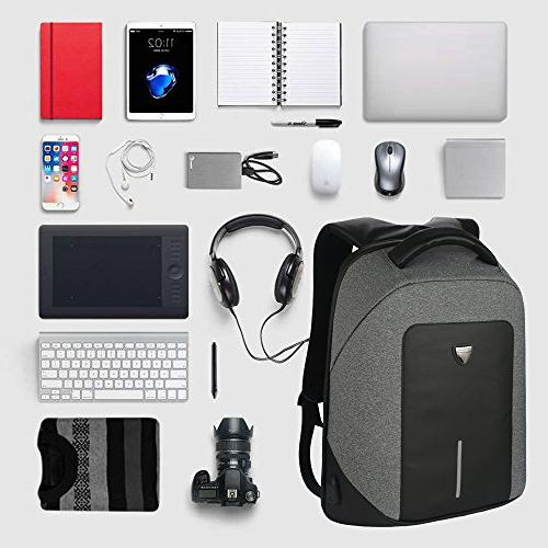 Business Travel Men Laptop Backpack Theft with Water Computer Bag for &