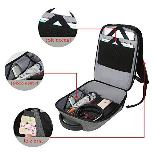 Business Backpack Men Laptop Backpack Theft with Water Computer for &