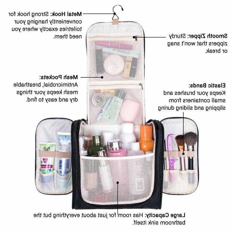 Melodysusie Large Toiletry Bag Makeup Organizer Bag