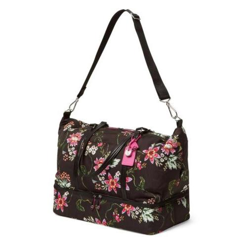 VERA Large Midtown Travel Tote in Airy Floral