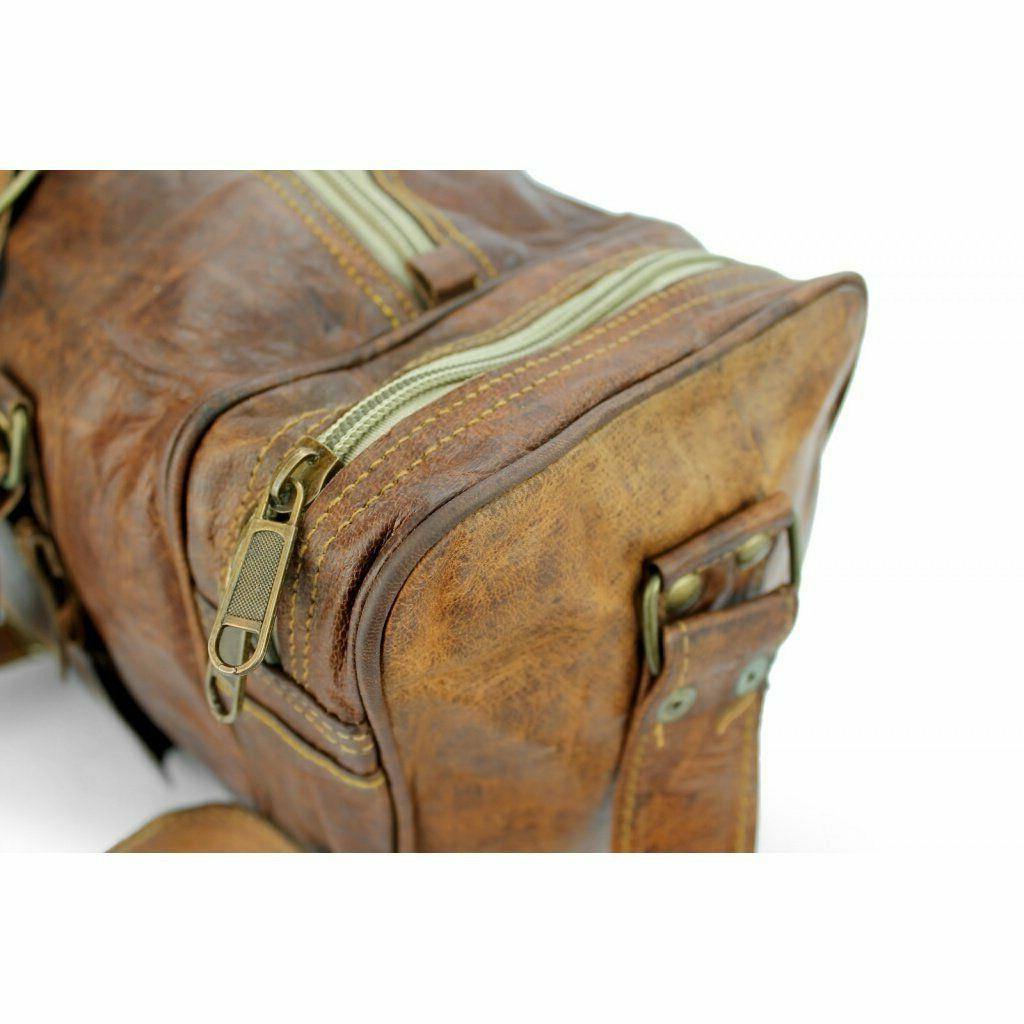Leather Men Duffle S Vintage Holdall Luggage Overnight