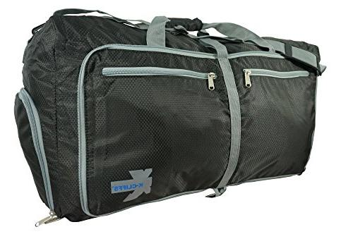 K-Cliffs Duffel Ripstop | Black/Grey