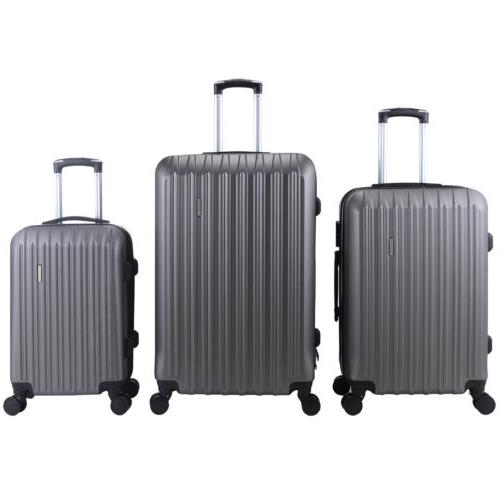 Luggage ABS Trolley 360° Spinner Carry Lock