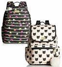 luv large cotton travel luggage backpack purse