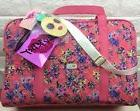 Luv Betsey Johnson Pink Duffle Bag XL Quilted Floral Carry-O