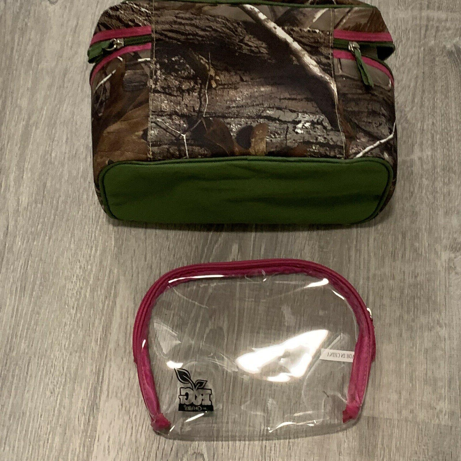 Caboodles Set Green Zip TW58