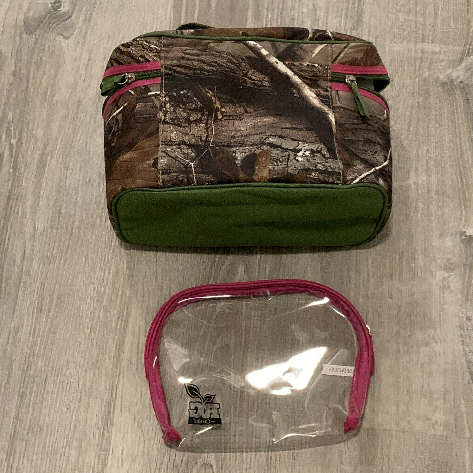 Caboodles Makeup Bag Set Zip Travel TW58
