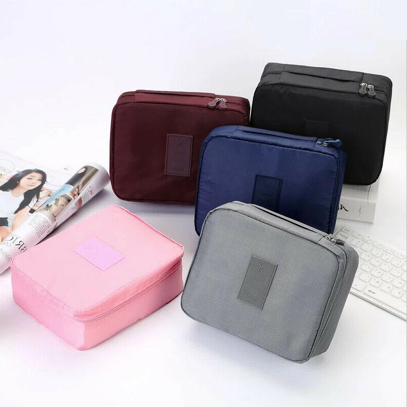 Multifunction Travel Cosmetic Bag Makeup Case Pouch Toiletry
