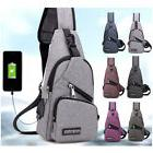 men chest pack messenger bags casual travel