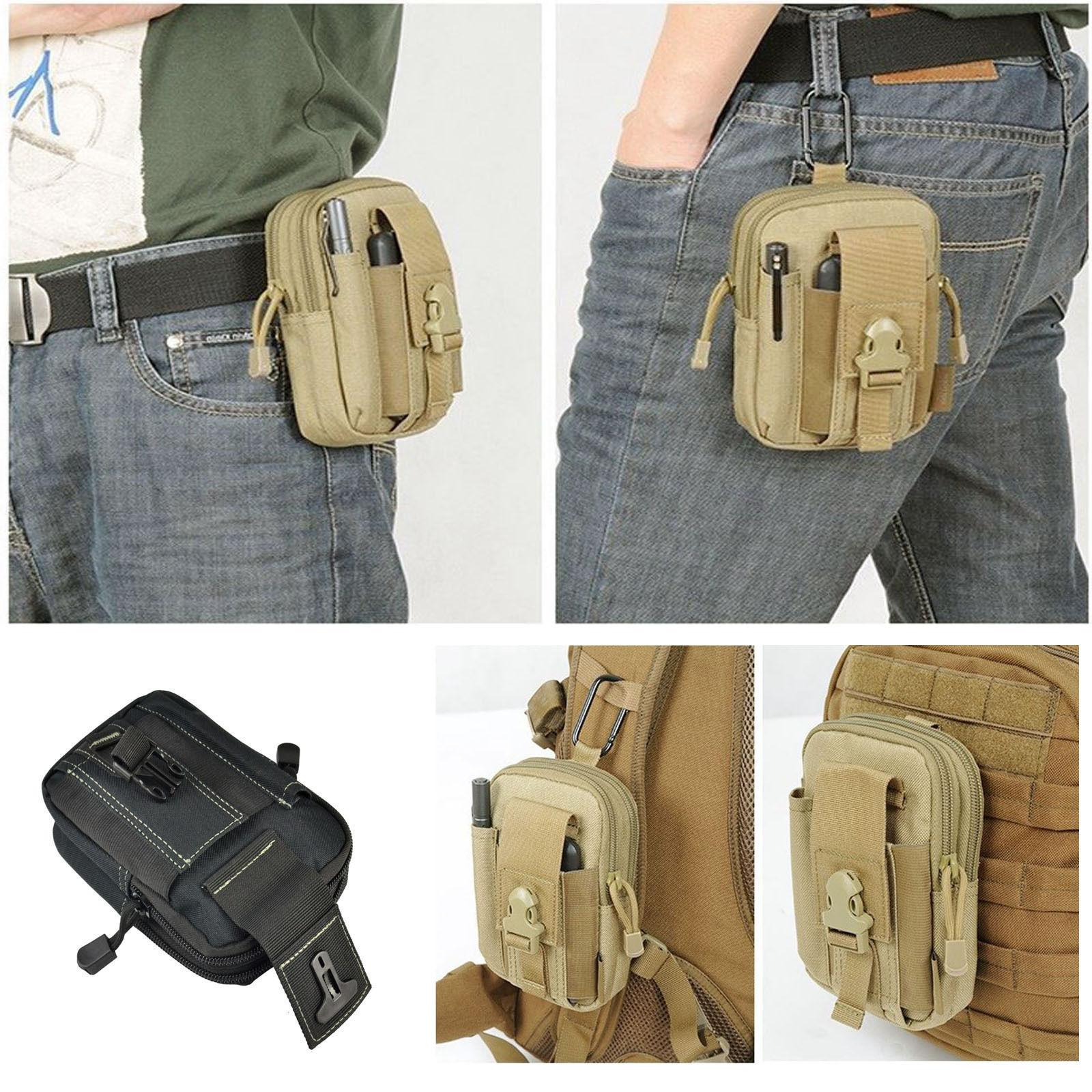 Tactical Pouch Molle Hunting Bags Belt Waist Bag Travel Funn