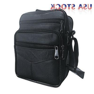 Men's Crossbody Satchel Briefcase