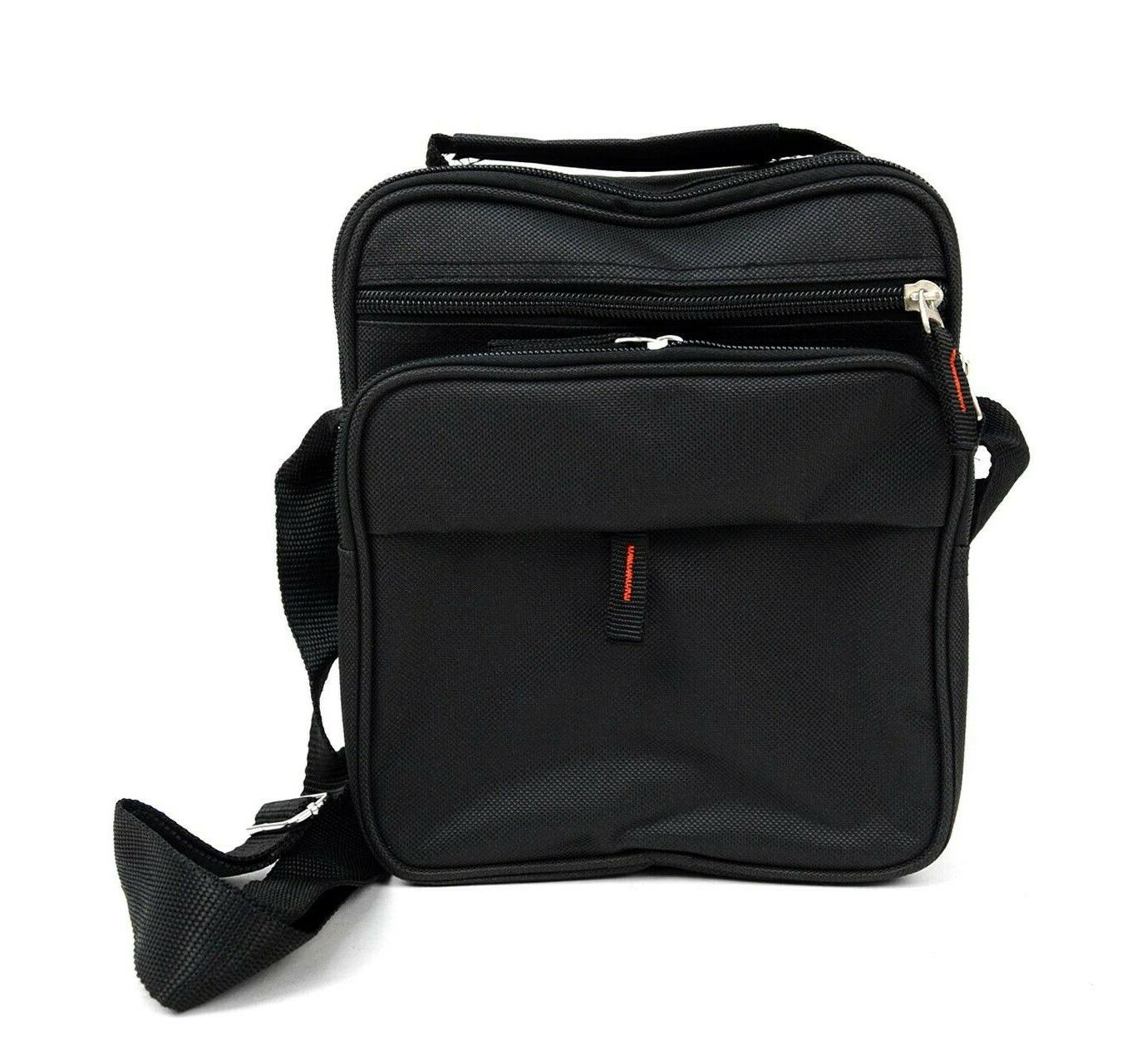men s small messenger bag with adjustable