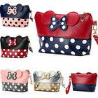 MINNIE MICKEY MOUSE Polka Dot Travel Cosmetic Bag Case Pouch