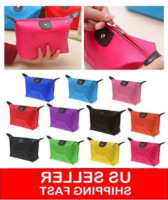 Multifunction Travel Cosmetic Bag Makeup Pouch Toiletry Zipp