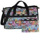 NEW LeSportsac $118 Large NYC Pattern Weekender Carry On Tra