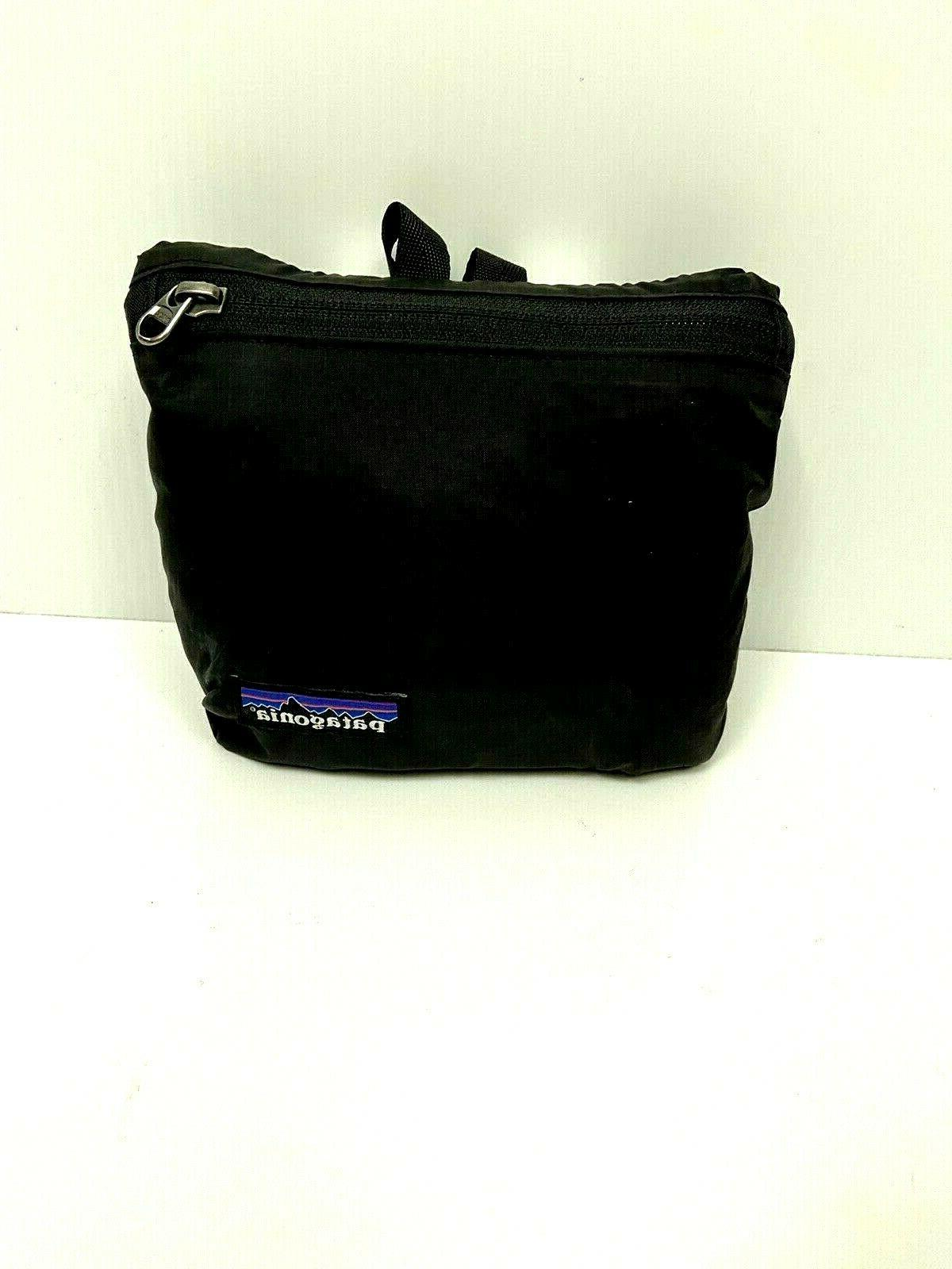 NEW PATAGONIA Travel Courier Packable Shoulder Black Unisex