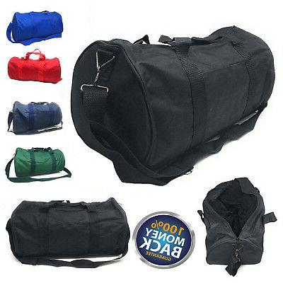 new polyester roll duffle duffel bag travel
