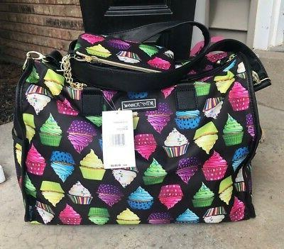 NEW BETSEY JOHNSON TRAVEL DUFFEL