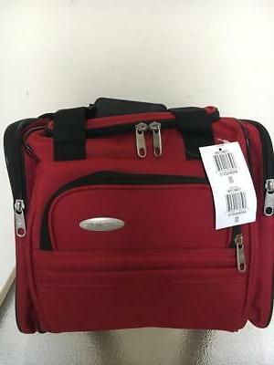 new with tag travel bag red tote