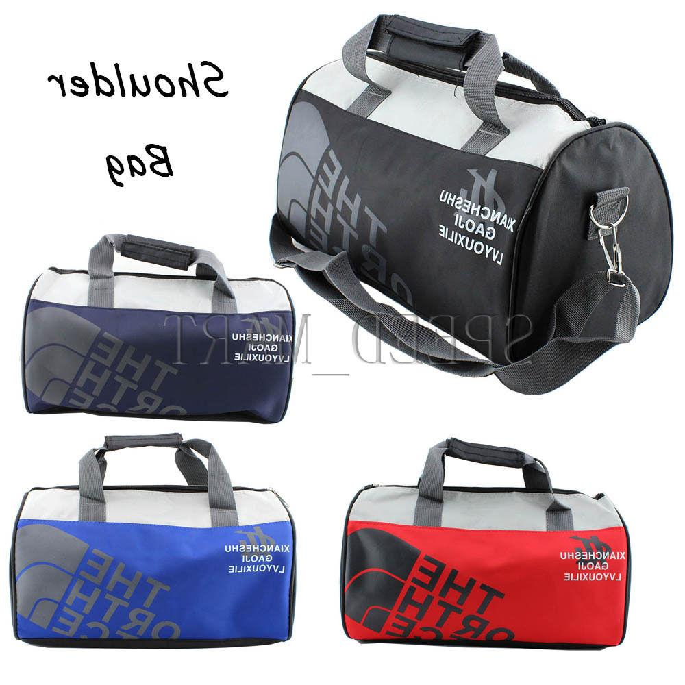 New Women Men Nylon Tote Sports Training Travel Shoulder Bag