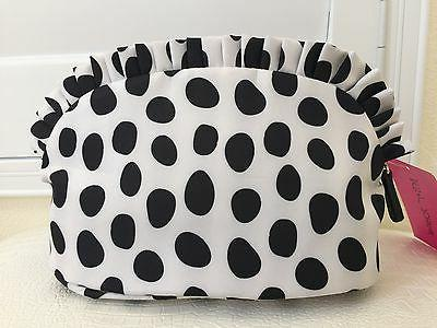 BETSEY JOHNSON York Travel Cosmetic Makeup Case NWT Authentic New