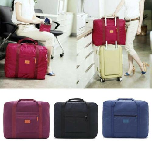 packable travel duffel bag waterproof nylon foldable