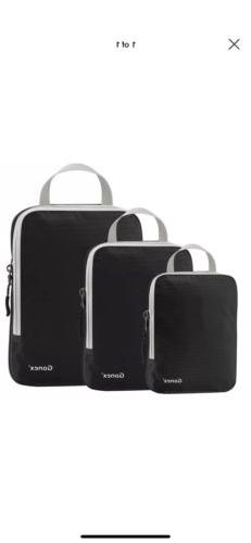 Gonex Packing Cubes,Travel Packing Organizers Luggage Compre