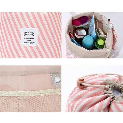 Portable Travel Makeup Toiletry Case Wash Organizer Pouch Bag