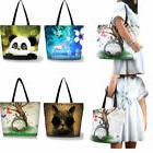 Reusable Grocery Bags Zipper Pocket Foldable Bags Tote for T